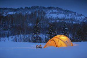 Zimní expedice v Novohradských horách